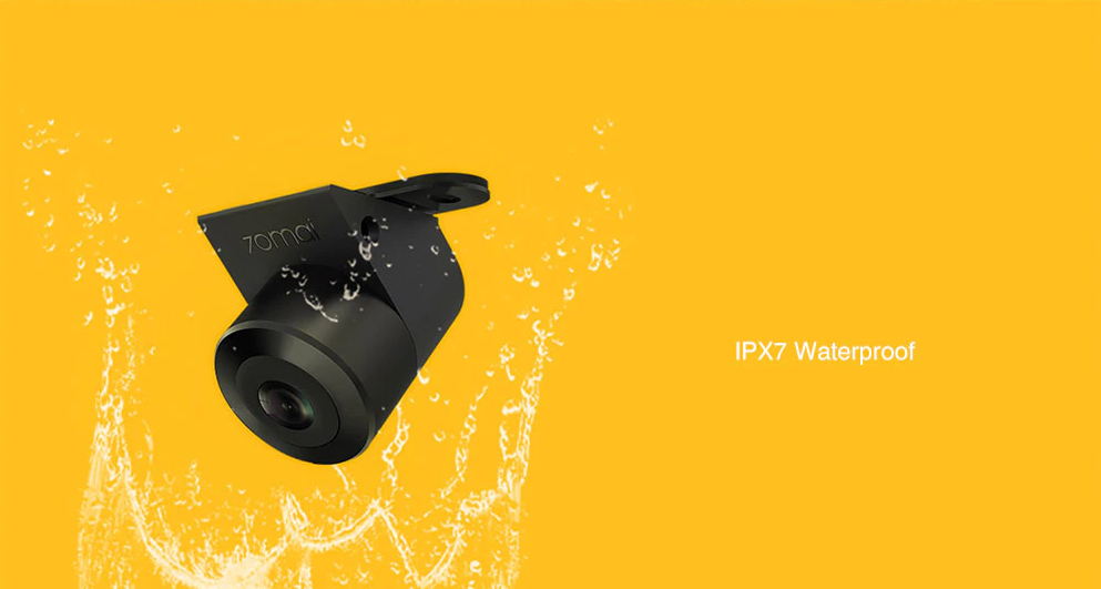 Xiaomi 70mai Car Backup Camera Aprueba de agua