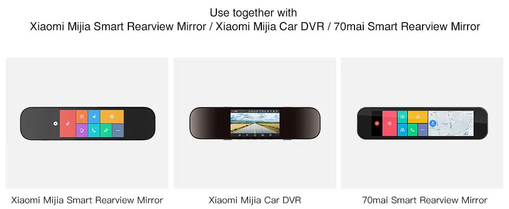 Xiaomi 70mai Car Backup Camera Mijia Smart