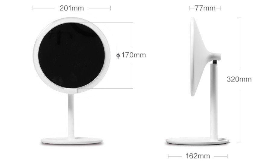 Xiaomi AMIRO HD Daylight Mirror Diseño