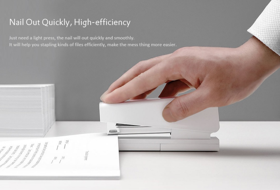 Xiaomi Efficient Nail Amount Reminder Stapler Engrapadora