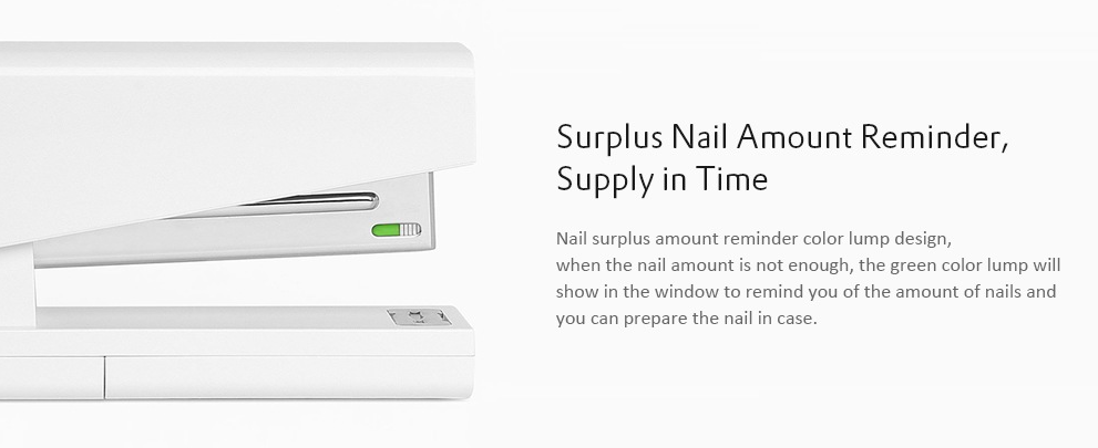 Xiaomi Efficient Nail Stapler: Recarga