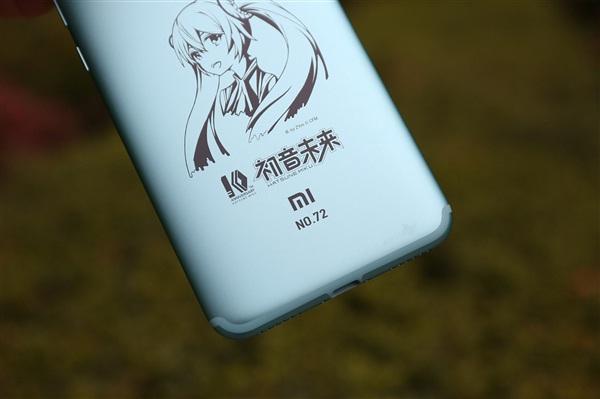 Xiaomi Mi 6X Hatsune Miku Limited Edition carcasa metálica