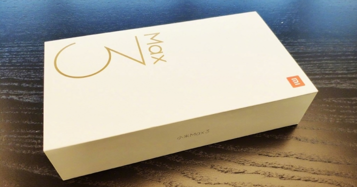 Xiaomi Mi Max 3 Paquete