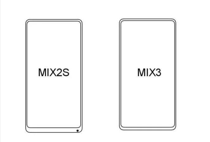 Xiaomi Mi Mix 3 Hint