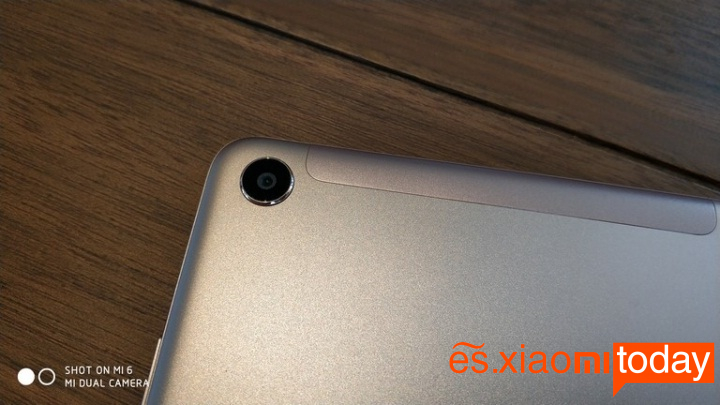 Xiaomi Mi Pad 4 cámara