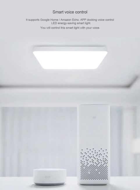 Xiaomi Yeelight Simple LED Ceiling Light Pro Control inteligente