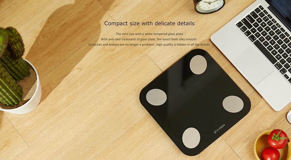 Báscula Xiaomi YUNMAI Mini 2 Diseño y Construcción