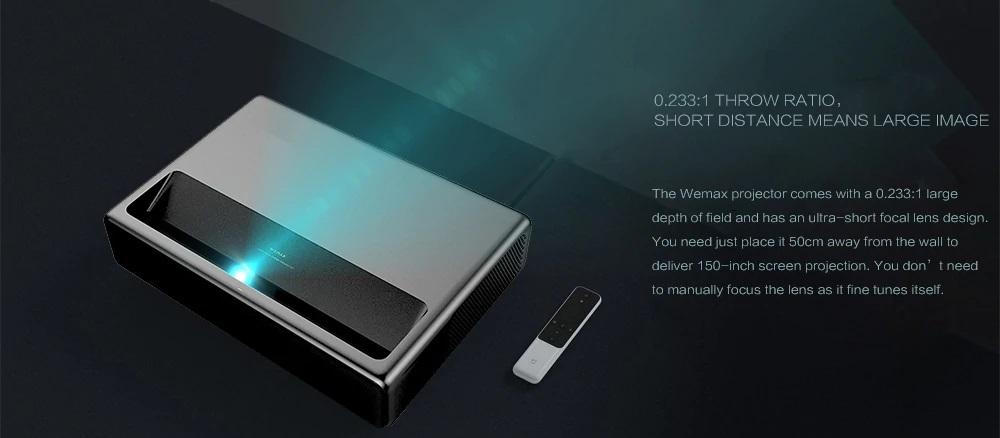 Xiaomi Wemax Laser Projector 0.233: 1