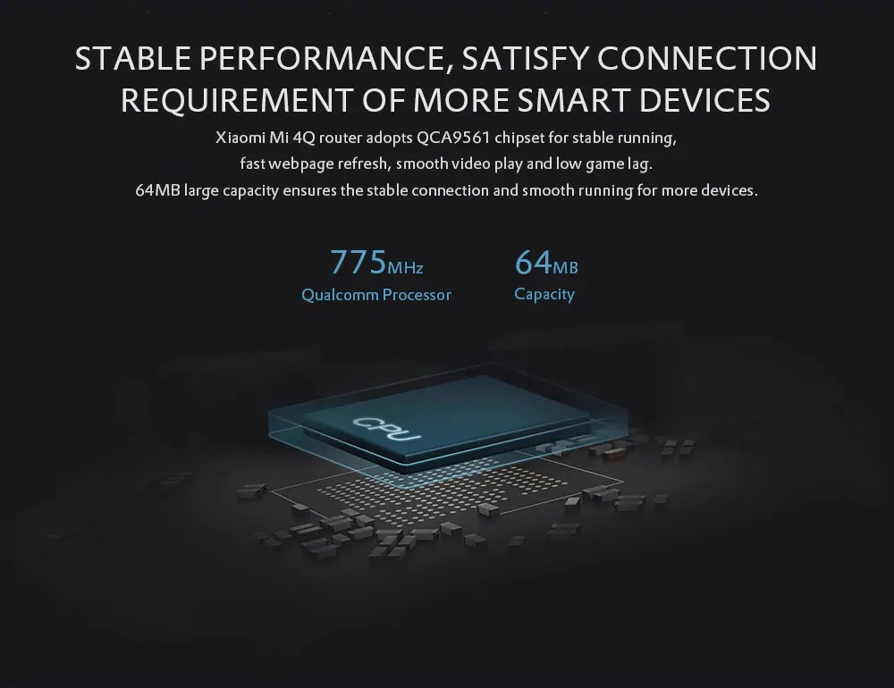 Xiaomi Mi Router 4Q Hardware