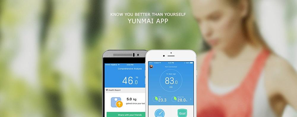 Báscula Xiaomi YUNMAI Mini 2 APP Control