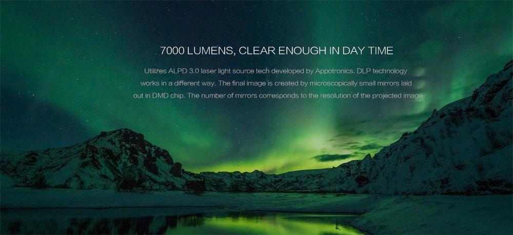 Xiaomi Wemax Laser Projector Brillo