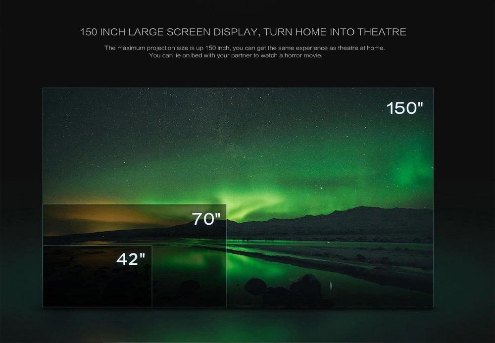 Xiaomi Wemax Laser Projector Parámetro Óptico