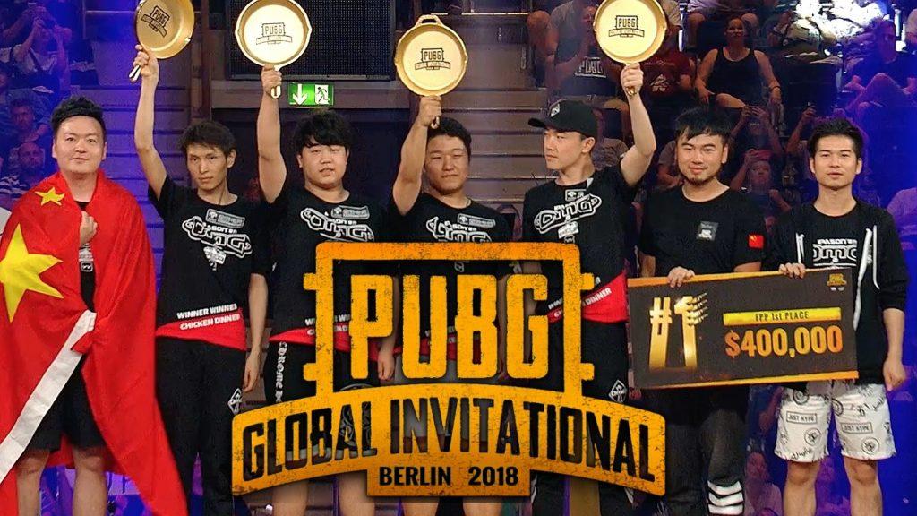 Oh My God ganador del PUBG GLOBAL INVITATIONAL 2018 en Berlín