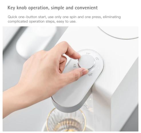 S2101 Instant Heating Water Dispenser botón