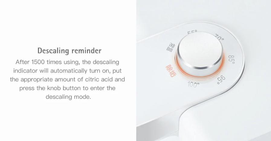 S2101 Instant Heating Water Dispenser descalcificación