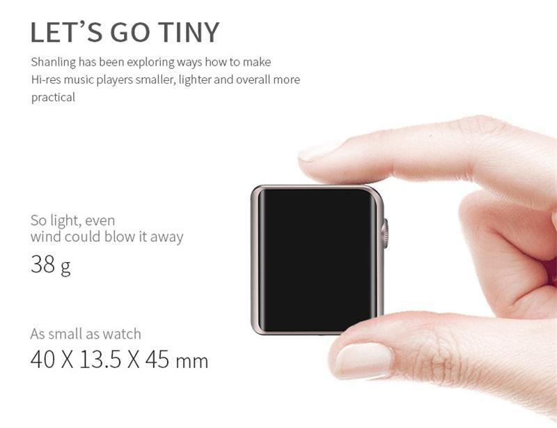 Xiaomi ShanLing M0 Dimensiones
