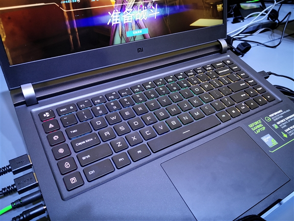 Xiaomi Notebook Pro GTX - teclado