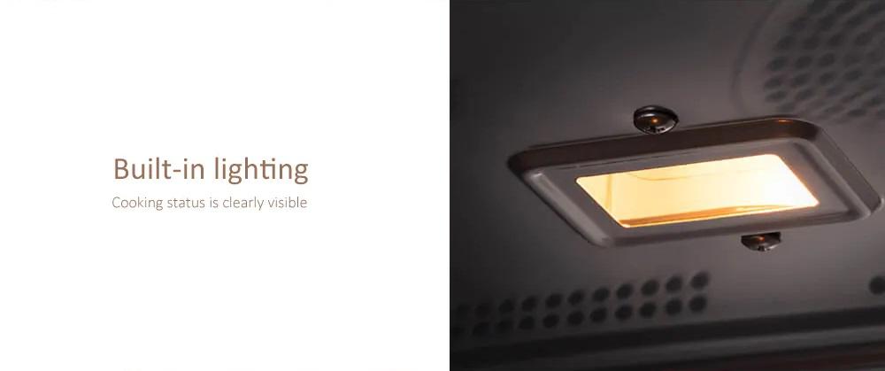 Máquina de Cocción a Vapor Xiaomi VIOMI - Iluminación Interna