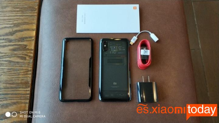 Xiaomi Mi 8 Explorer Edition Análisis - Unboxing