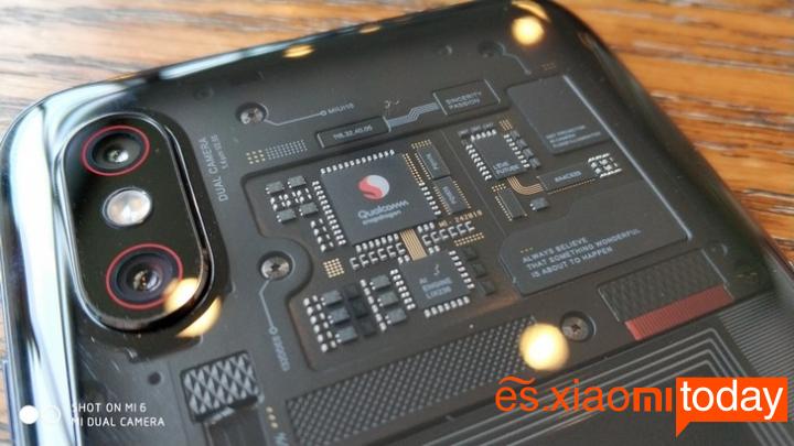 Xiaomi Mi 8 Explorer Edition Análisis - Diseño