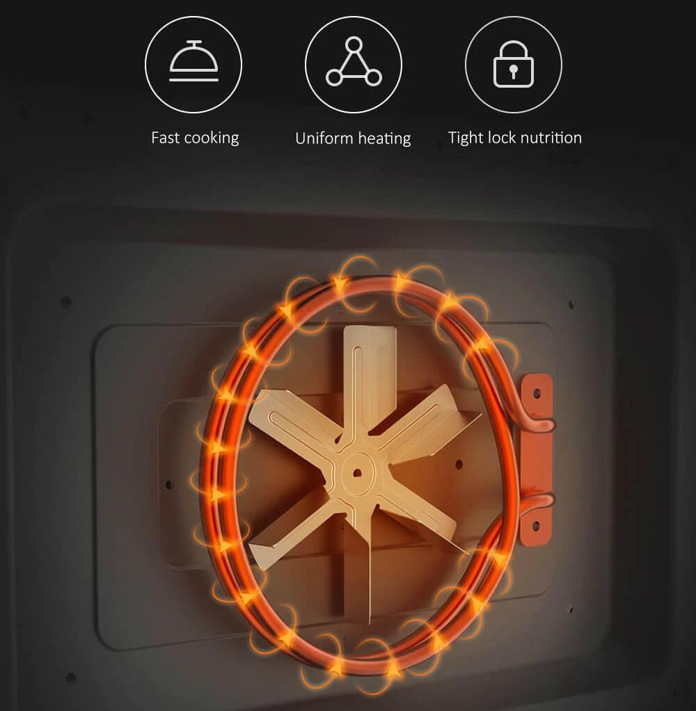 Máquina de Cocción a Vapor Xiaomi VIOMI - Calentamiento Uniforme