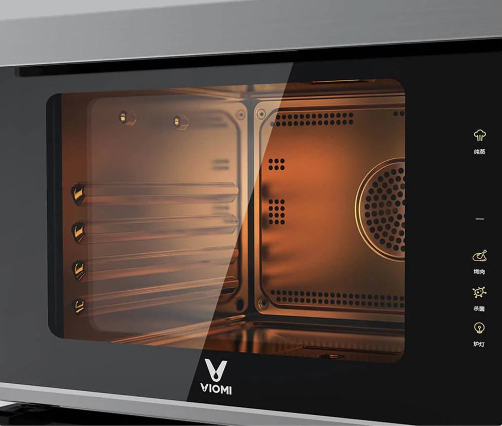 Máquina de Cocción a Vapor Xiaomi VIOMI - Acero Inoxidable y Vidrio Templado