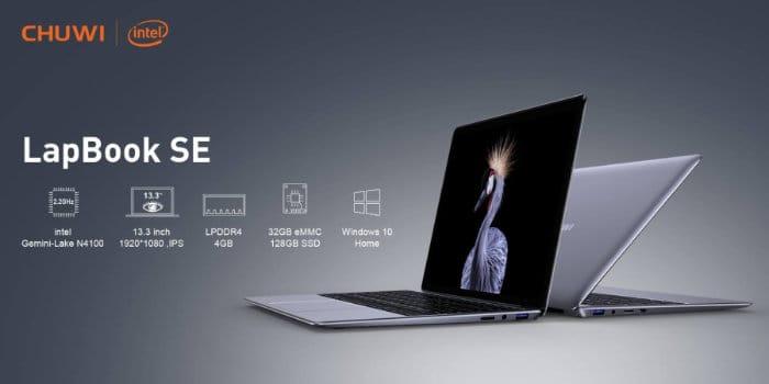 Chuwi lapbook SE - Especificaciones