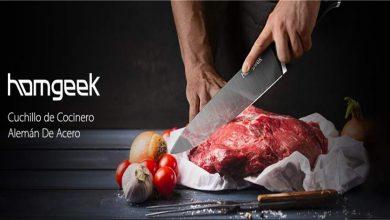 Cuchillo de cocina Homgeek