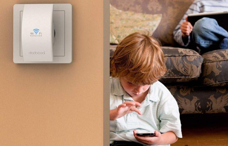 Dodocool N300 WiFi Extender destacada
