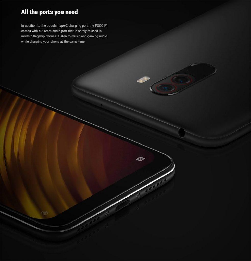 Xiaomi Poco F1- pantalla