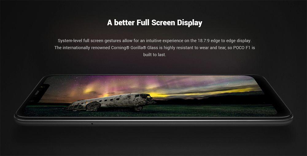 Xiaomi Poco F1 - diseño