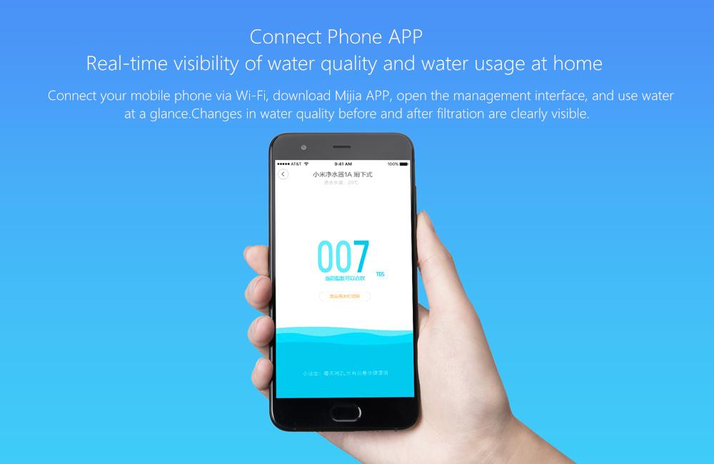 Xiaomi Mi Water Purifier 1A - App
