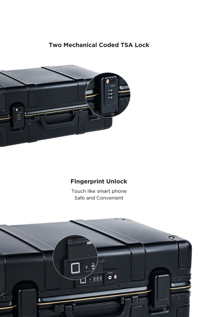 Xiaomi 90FUN Suitcase - diseño