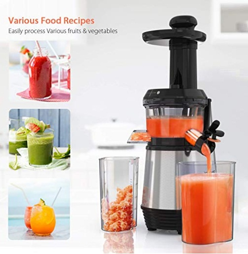 Homgeek Electric Juice Extractor - Oferta Amazon