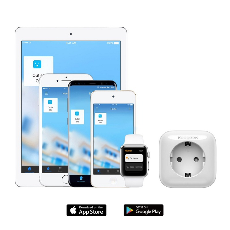 Enchufe Inteligente Koogeek Wi-Fi Enabled Smart Plug sincronización