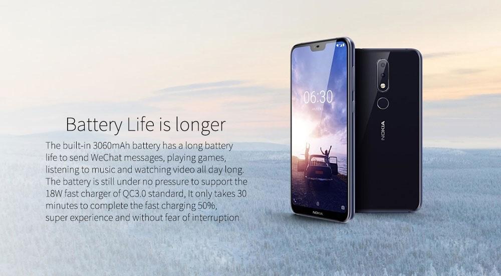 Nokia X6 Batería