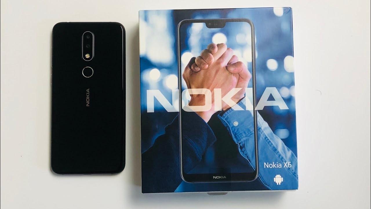 Nokia X6 caja