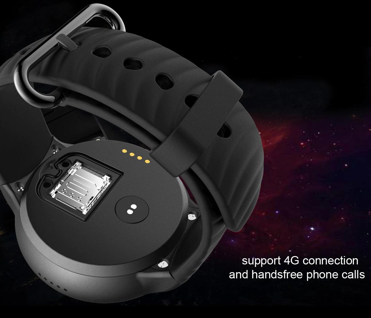 IQI I8 4G Smartwatch Phone: Conectividades/Nano SIM