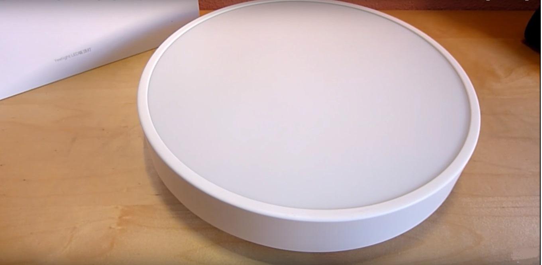 Xiaomi Yeelight LED Smart Ceiling Light: Diseño