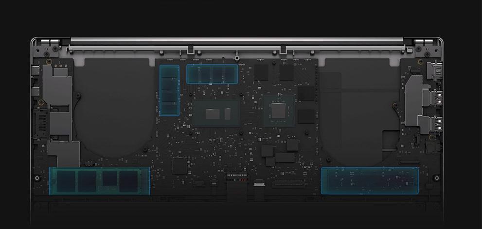 Xiaomi Mi Notebook Pro GTX 1050: Hardware y Rendimiento