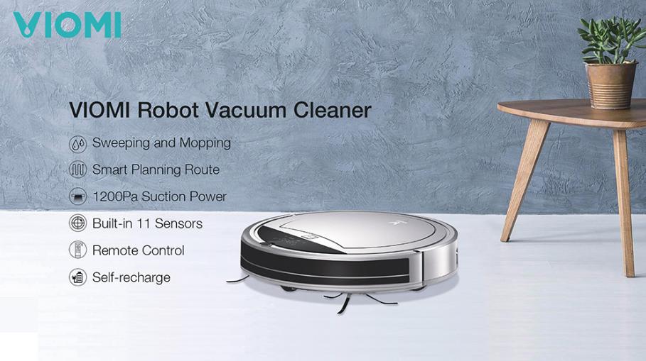 Incredible offers of appliances in Geekbuying: Xiaomi Viomi Robot