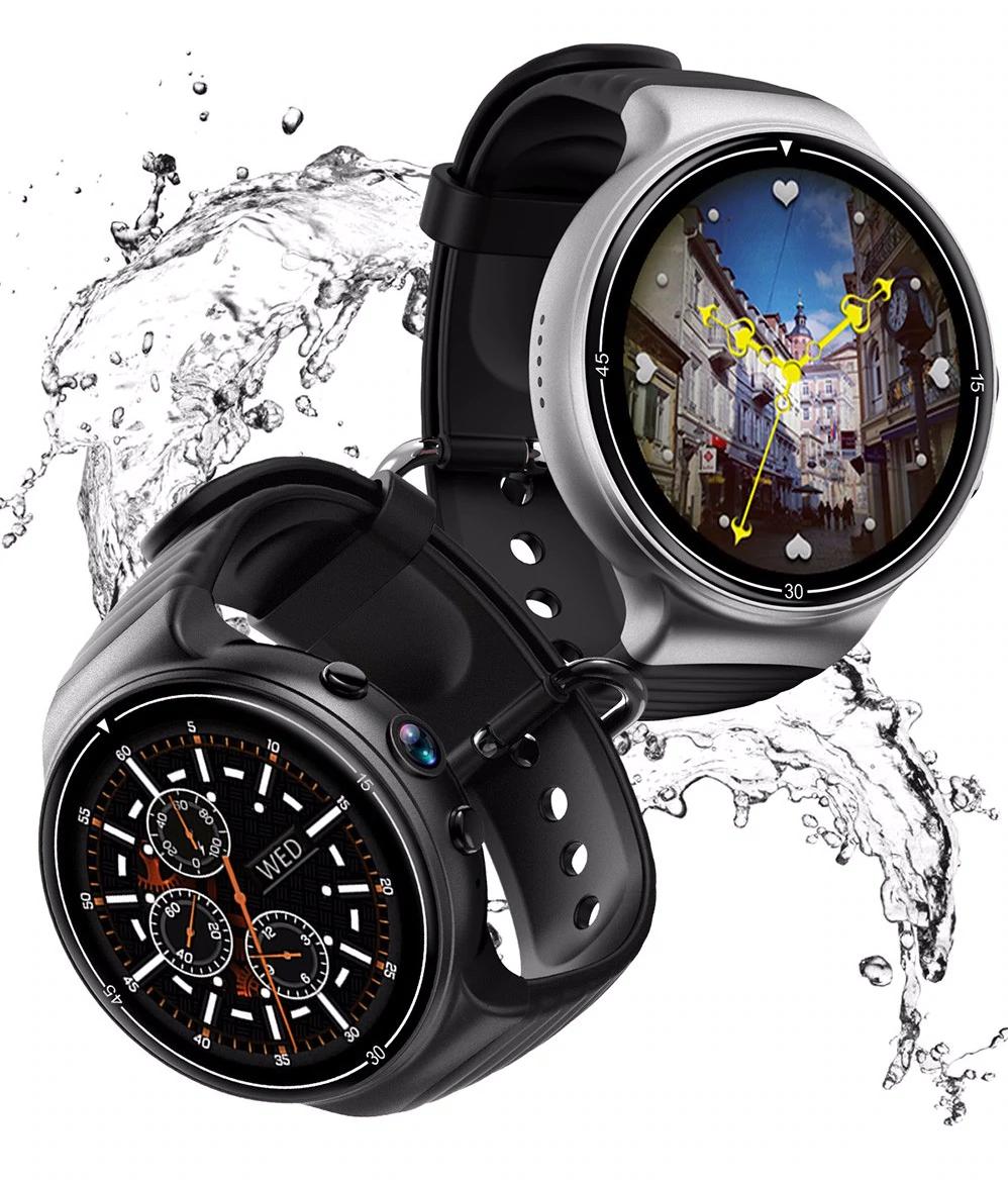 IQI I8 4G Smartwatch Phone: Resistencia al agua