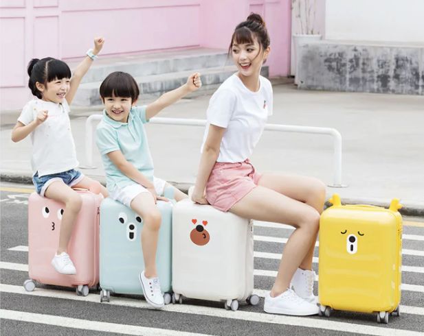 Xiaomi 90FUN PC Spinner Wheel Luggage Suitcase 18inch Materiales