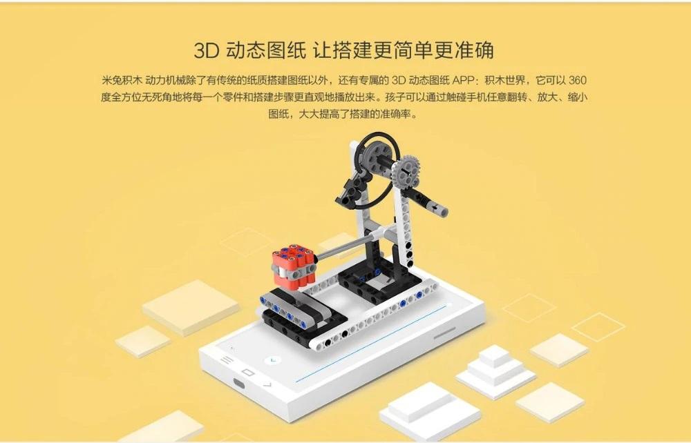 Xiaomi Bunny Ala mecánica creaciones