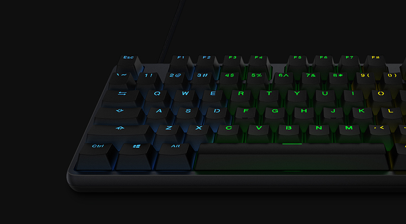 Xiaomi Gaming Keyboard 104-Key RGB diseño