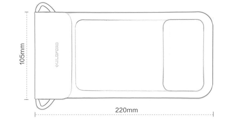 Xiaomi Guildford Waterproof Bag Dimensiones