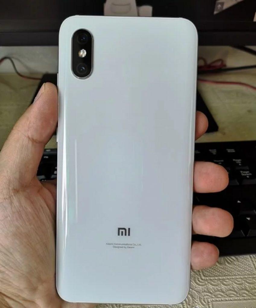 Xiaomi Mi 8X - versión blanca