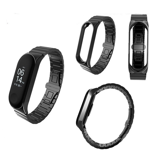 Xiaomi Mi Band 3 Luxury Stainless Steel Bracelet