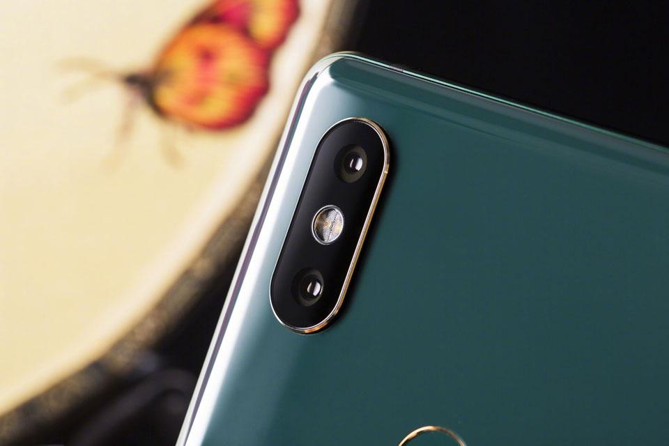 Xiaomi Mi MIX 2S Emerald Jade Cámaras dual