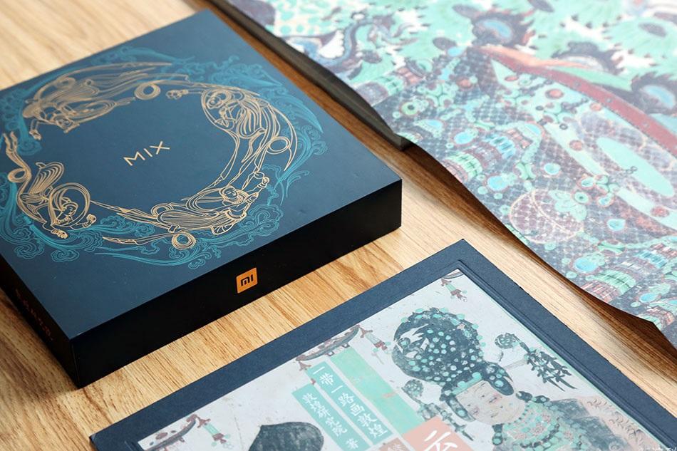 Xiaomi Mi MIX 2S Emerald Jade Caja lateral
